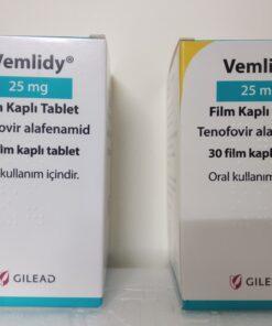 Thuốc Vemlidy 25mg Tenofovir Alafenamide điều trị viêm gan B mạn tính (1)