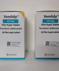 Thuốc Vemlidy 25mg Tenofovir Alafenamide điều trị viêm gan B mạn tính (2)